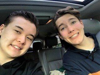 Jake and Mason One