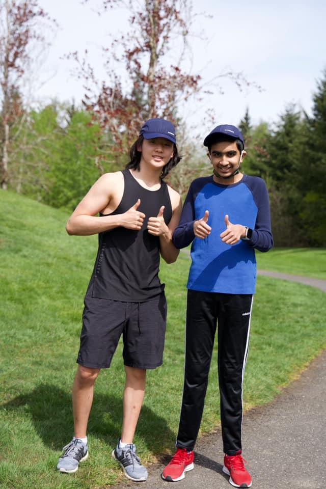 Jacob and buddy